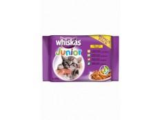 obrázek Whiskas kapsa Junior ve šťávě 4x100g