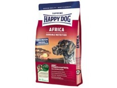 obrázek Happy Dog Supreme Sensible AFRICA pštros,bramb. 4kg