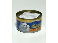 obrázek Miamor Cat Filet konzerva tuňák+sýr 100g