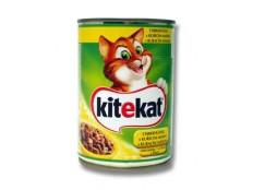 obrázek Kitekat konzerva s kuřecím 400g