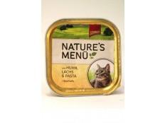 obrázek Schmusy Cat Nature Menu vanička kuře+losos 100g