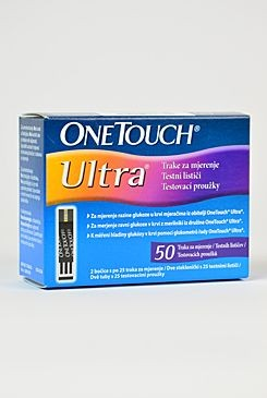 Proužky ke glukometru One Touch Ultra 50ks