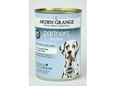 obrázek Arden Grange Partners Dog Sensitive konz.  395g