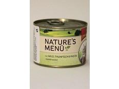 obrázek Schmusy Cat Nature Menu konzerva zvěřina+tuňák 190g