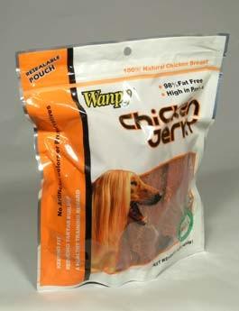 Wanpy Dog pochoutka Jerky Chicken 100g