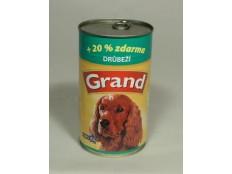 obrázek GRAND konz. pes drůbeží 1300g