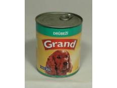 obrázek GRAND konz. pes drůbeží 850g