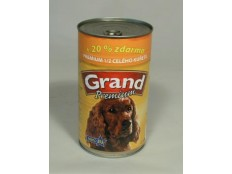 obrázek GRAND konz. pes Extra s 1/2 kuřete 1300g