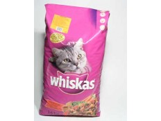 obrázek Whiskas Dry s kuřecím masem 14kg