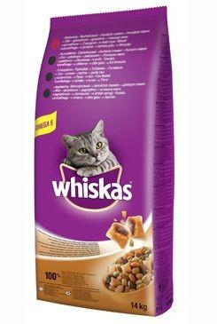 Whiskas Dry s hovězím masem 14kg