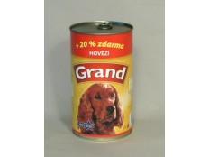 obrázek GRAND konz. pes hovězí 1300g