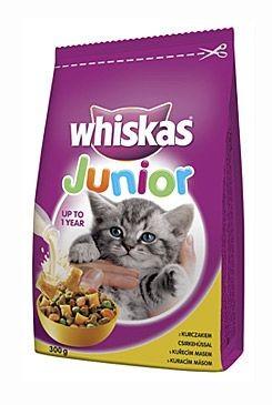 Whiskas Dry Junior s kuřecím masem 300g