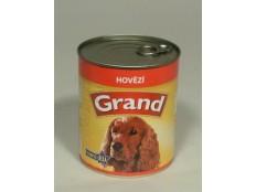 obrázek GRAND konz. pes hovězí 850g