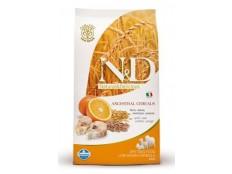 obrázek N&D Low Grain DOG Adult Codfish & Orange 2,5kg
