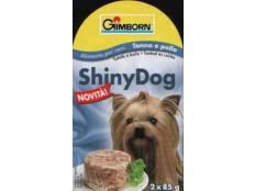obrázek Konzerva SHINY DOG - jehněčí a kuře 2x85g
