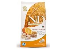 obrázek N&D Low Grain DOG Adult Mini Codfish & Orange 2,5kg