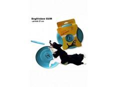 obrázek Hračka pes létající talíř Dr.Dog GUM 21cm