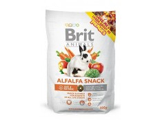 obrázek Brit Animals  Alfalfa Snack for Rodents 100g