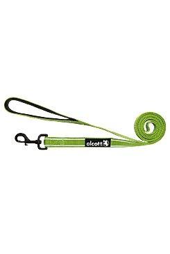 Vodítko Alcott reflexní zelená L 183cm/24mm