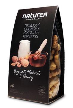 Naturea GF sušenky - jogurt, vlašské ořechy, med 230g