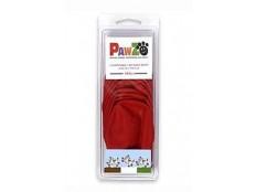 obrázek Botička ochranná Pawz kaučuk S červená 12ks