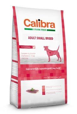 Calibra Dog GF Adult Small Breed Duck 2kg NEW