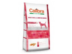 obrázek Calibra Dog GF Adult Medium & Small Salmon 12kg NEW