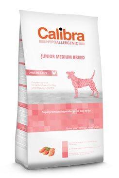 Calibra Dog HA Junior Medium Breed Chicken 14kg NEW