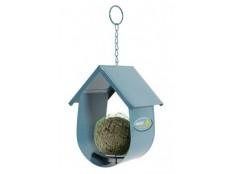 obrázek Budka na lojovou kouli pro ptáky kovová modrá Zolux