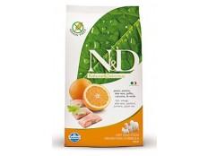 obrázek N&D Grain Free DOG Adult Fish & Orange 800g