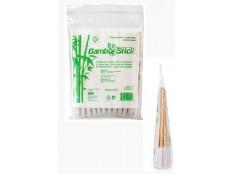 obrázek Tyčinky vatové BambooStick pro čištění uší psů 50ks