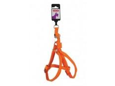 obrázek Postroj pes MAC LEATHER oranžová 15mm Zolux