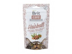 obrázek Brit Care Cat Snack Hairball 50g
