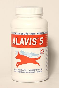 Alavis 5 pro psy a kočky 90 tbl