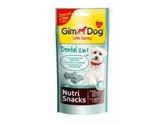 obrázek GIMDOG Nutri Snack Dental 2v1 mini kostičky 40g
