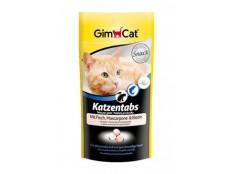 obrázek GIMCAT Tabs Fish+Mascarpone+Biotine 40g