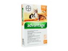 obrázek Advantage 40 10% 4x0,4ml pro malé kočky a králíky