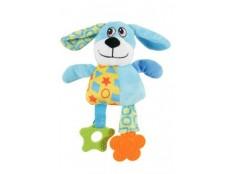 obrázek Hračka pes DOG COLOR plyš modrá 22cm Zolux