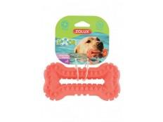 obrázek Hračka pes BONE MOOS TPR POP 13cm lososová Zolux