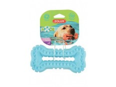 obrázek Hračka pes BONE MOOS TPR POP 16cm modrá Zolux