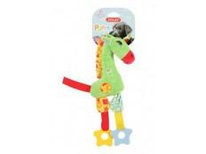 obrázek Hračka pes GIRAFFE COLOR plyš zelená 29cm Zolux