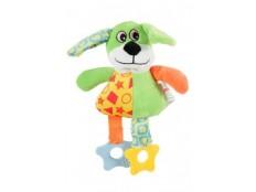 obrázek Hračka pes DOG COLOR plyš zelená 22cm Zolux