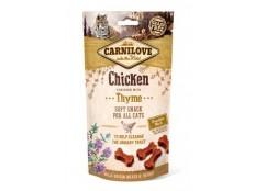 obrázek Carnilove Cat Semi Moist Snack Chicken&Thyme 50g