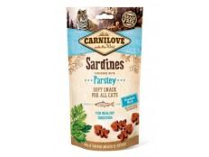 obrázek Carnilove Cat Semi Moist Snack Sardine&Parsley 50g