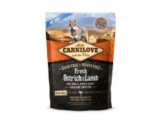 obrázek Carnilove Dog Fresh Ostrich&Lamb for Small Breed 1.5kg