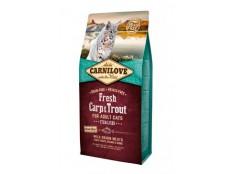 obrázek Carnilove Cat Fresh Carp & Trout Sterilised Adult 6kg