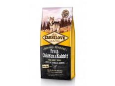 obrázek Carnilove Dog Fresh Chicken & Rabbit for Adult 12kg