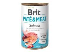 obrázek Brit Dog konz Paté & Meat Salmon 400g