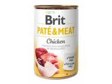 obrázek Brit Dog konz Paté & Meat Chicken 400g