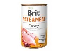 obrázek Brit Dog konz Paté & Meat Turkey 400g